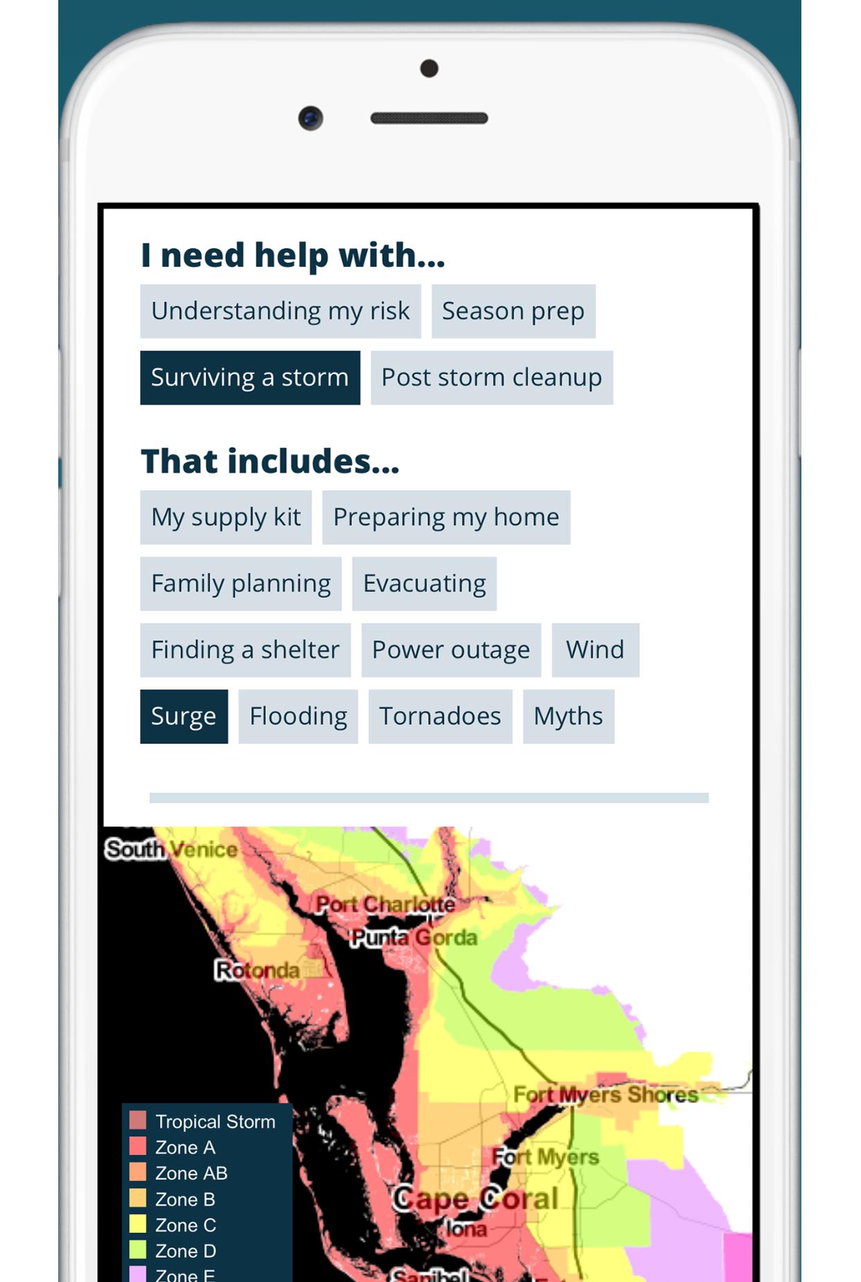 App - Florida Storms